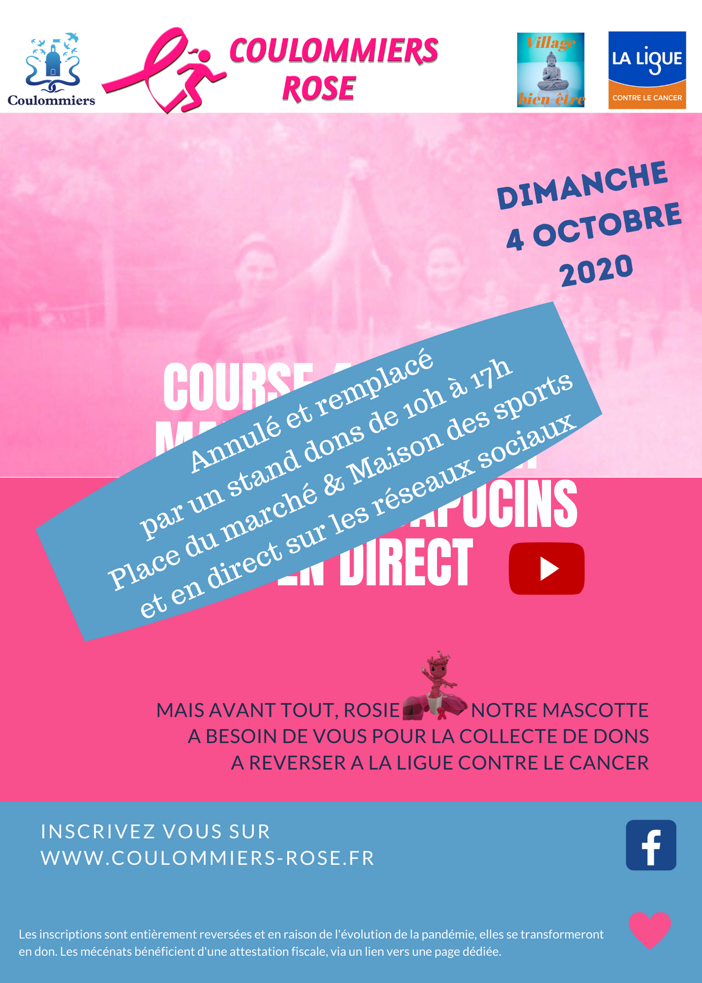 flyer coulommiers rose 2020