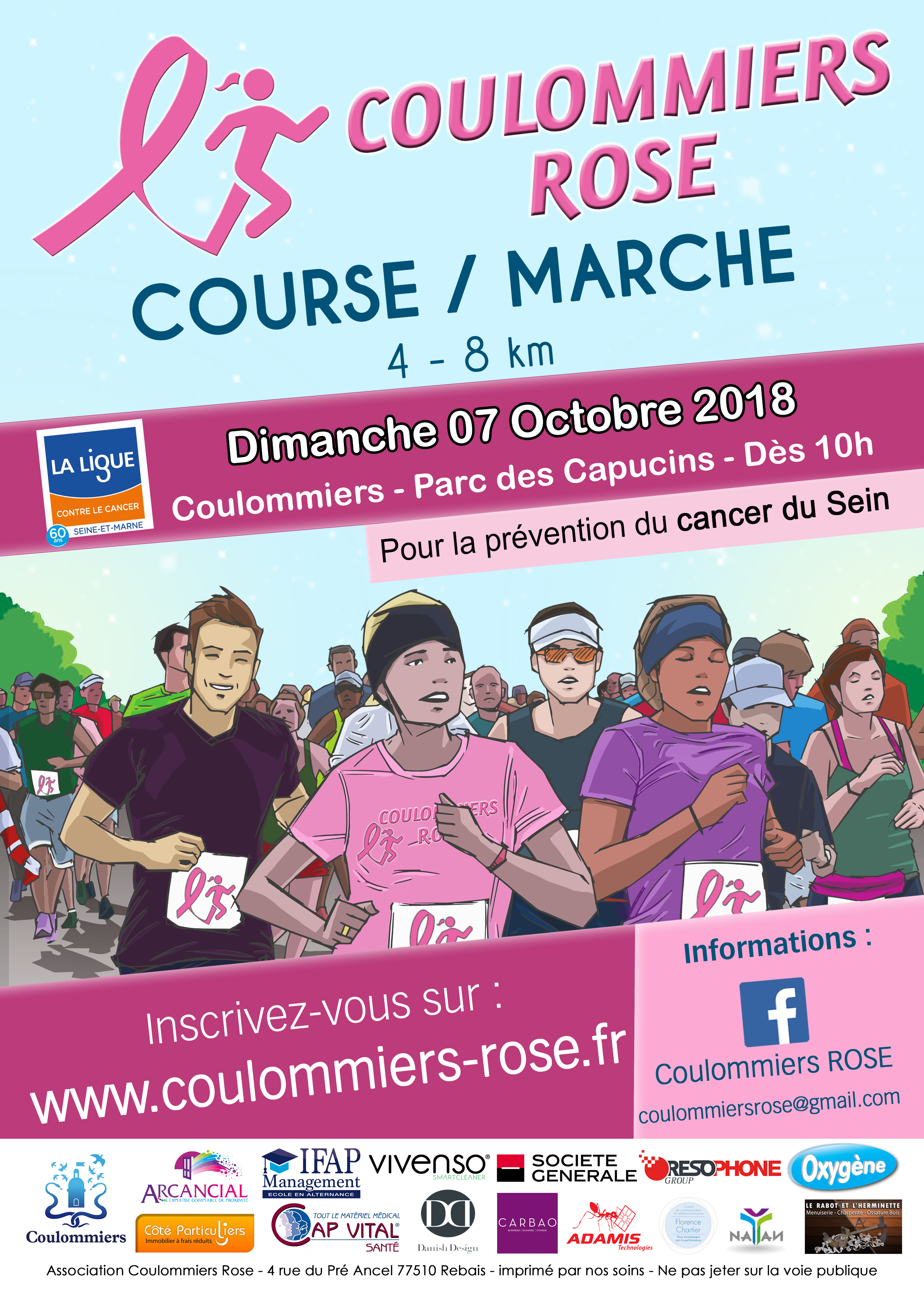 flyer coulommiers rose 2018